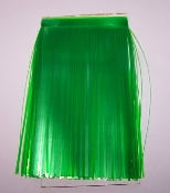 Banded Trolling Fly Material - Translucent Lt Green