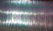 Banded Trolling Fly Material - Pearl Flat Fine Cut