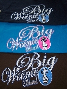 Big Weenie Brand Ladies Short Sleeve T-Shirts
