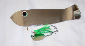 Green Chrome HD Stinky Stinky Bait Rig Combo