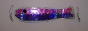 "Purple Holo/UV Fishscale XXXtreme UV 10"" Weiner"