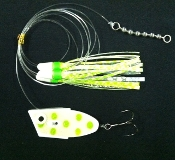 'Spotted Dick Glow' Cut-Bait Rig