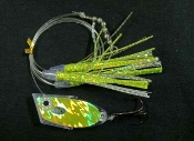 Electric Chartreuse Thunderstruck UV Cut-Bait Rig