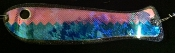 "Blue Thunderstruck/UV Fishscale XXXtreme UV 10"" Weiner"