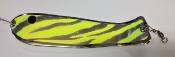 "'Chartreuse Tribal Chrome' 10"" Weiner Flasher"
