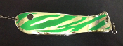 "'Green Tribal Chrome' 10"" Weiner Flasher"