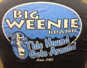 Big Weenie Brand 'This Hound Gets Around' Short Sleeve T-Shirt