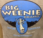 Big Weenie Brand 'Original' Short Sleeve T-Shirts