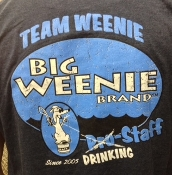 Big Weenie Brand 'Drinking Staff' Team Weenie T-Shirts