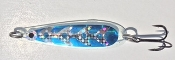 Itchie Buttsie Blue UV Standard Size Trolling Spoon - NEW 2015