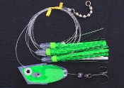 'Green Electric UV' Cut-Bait Rig - NEW 2016