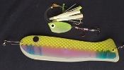 Manistee Monster XXXtreme Glow Whole Bait Rig Combo
